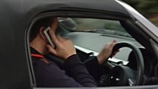 Plain-clothed police target drivers using phones