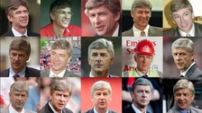 What was happening 20 years ago when Wenger became manager?