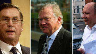 Lord Ashcroft, Sir Anthony Bamford and Michael Spencer donated more than £50,00 to the party