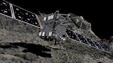 Rosetta spacecraft crashes into comet