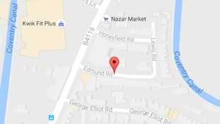 The victim was found dead on Edmund Road in Coventry on Monday night.
