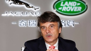 Dr Ralf Speth, chief executive of Jaguar Land Rover.