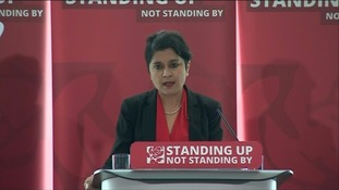 Shami Chakrabarti carried out a review into anti-Semitism and Islamophobia in the Labour Party earlier this year.