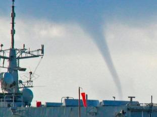 Unusual cloud in Dover