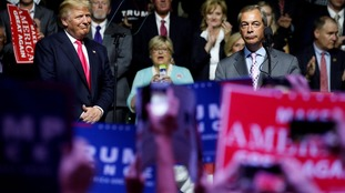 Donald Trump to be coached by Nigel Farage before next presidential debate