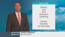 Wales Weather: Heavy rain for most, but clearing up later!