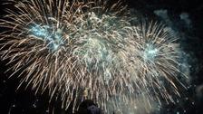 Fireworks stolen