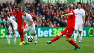 Premier League match report: Swansea 1-2 Liverpool