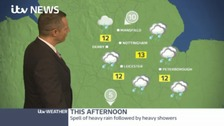 Your afternoon weather forecast with James Wright.