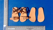 Replica of Ben Needham's sandals revealed