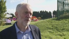 Nissan investment must be continued, says Corbyn