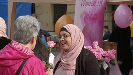 Muslim women educate others about Islam