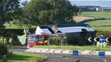 Man dies in Rangers supporters bus crash