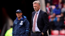 Manager David Moyes on Saturday.