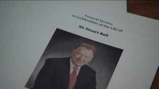 Friends and family gathered to celebrate Sir Stuart Bell's life