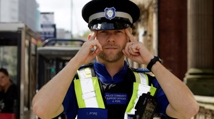 PCSO Andy Pope is dubbed 'memory cop'