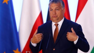 Prime Minister Viktor Orban is a tough opponent of European immigration