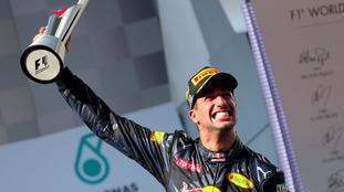Daniel Ricciardo came out on top in Sepang.