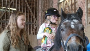 50 years of spreading joy: how horse riding helps disabled people in Exeter