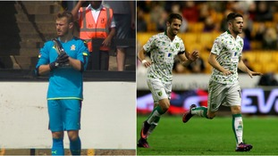 Will Norris (left) and Robbie Brady (right) both his the headlines this weekend.
