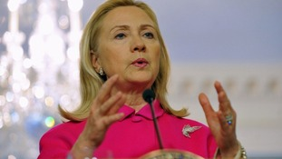 US Secretary of State Hillary Clinton says President Assad will be judged on his actions.