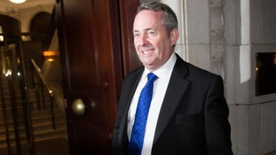 Liam Fox 'quite tearful' with pride when Britain voted to leave the EU