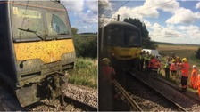 The crash happened near Peterborough.