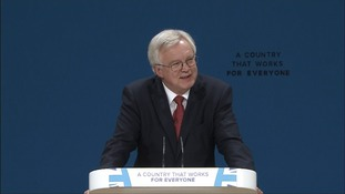 David Davis, the minister in charge of Britain leaving the European Union