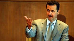 President Assad feels the momentum is with him.