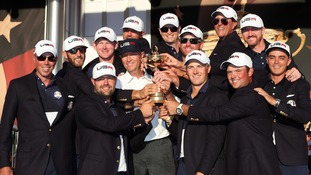 USA defeat Europe to reclaim Ryder Cup at Hazeltine