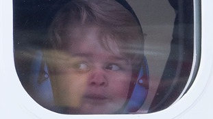 Prince George takes control of seaplane - once it lands