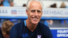 Ipswich Town's Manager Mick McCarthy