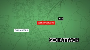 A woman was the victim of a sex attack after a night out in Chelmsford.