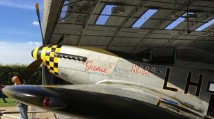 The P-51D Mustang, nicknamed