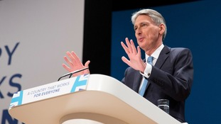 Seven things we learned from Philip Hammond's speech at the Conservative Party Conference