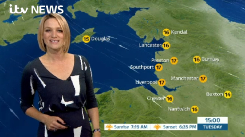 Brand New Itv Weather Graphics Granada Itv News