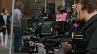 A new film is being shot in Northamptonshire aiming to raise the county's profile.