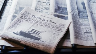 Original copies of The New York Times pictured, the newspaper which has detailed a report into Premier Wen Jiabao's wealth.