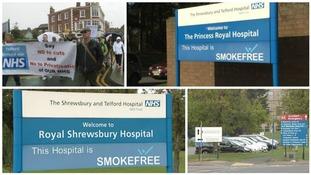 Shrewsbury or Telford? Which town needs an A&E