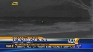 Image of the waves at Paia Bay in Maui, Hawaii