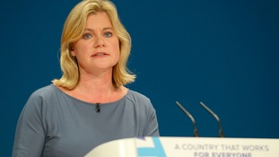 "Justine Greening said the ""opportunity areas"" would help improve social mobility in some of England's most disadvantaged regions."
