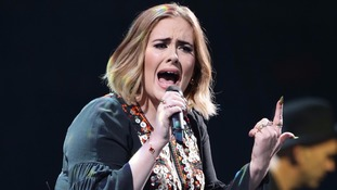 Adele tops 2016 album sales charts with record released last year
