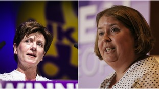 Lisa Duffy (right) could be set for another leadership contest.