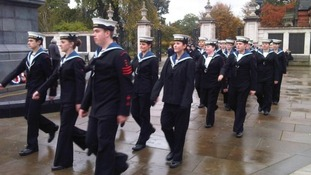 Sea Cadets mark Battle of Trafalgar anniversary