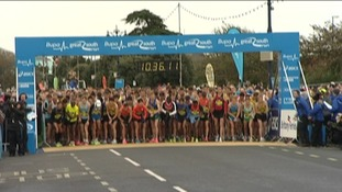 Biggest ever Great South Run
