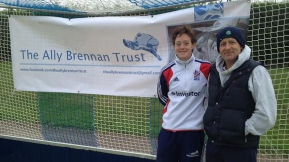 Hannah was made a patron of the Ally Brennan Trust in St Ives today