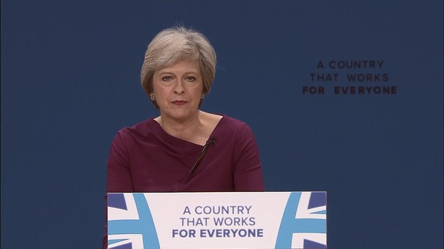 Bildresultat för a country that works for everyone theresa may