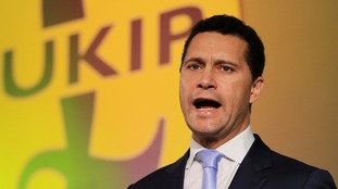 Mr Woolfe announced his bid hours after Diane James quit.