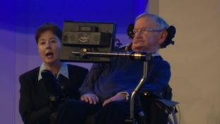 Prof Stephen Hawking says Motor Neurone disease will never hold him back