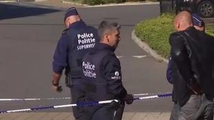 Terror fears after knife-wielding man stabs two Belgian police officers